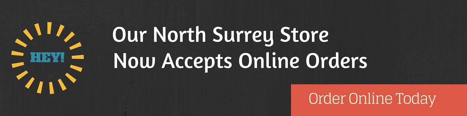north surrey online ordering banner
